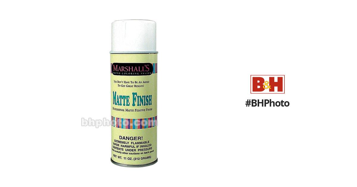 marshall retouching matte finish spray 13 oz msmfs b h photo