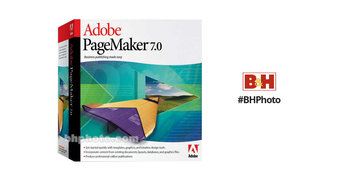 Adobe Page Maker 7 0 2 Page Layout Software for Macintosh
