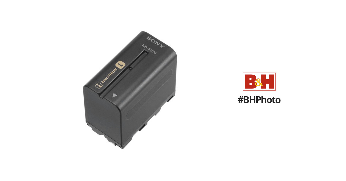 bb47751482c3eb Sony NP-F970 L-Series Info-Lithium Battery Pack (6300mAh) NPF970