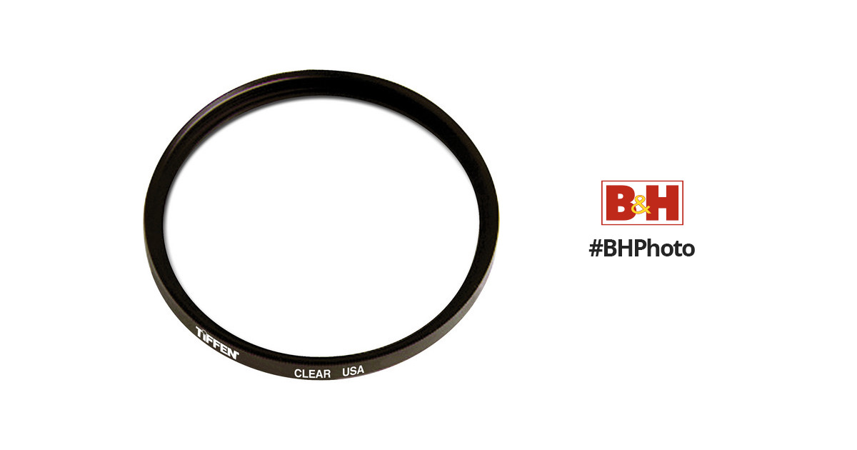 107mm Clear Standard Coated Filter