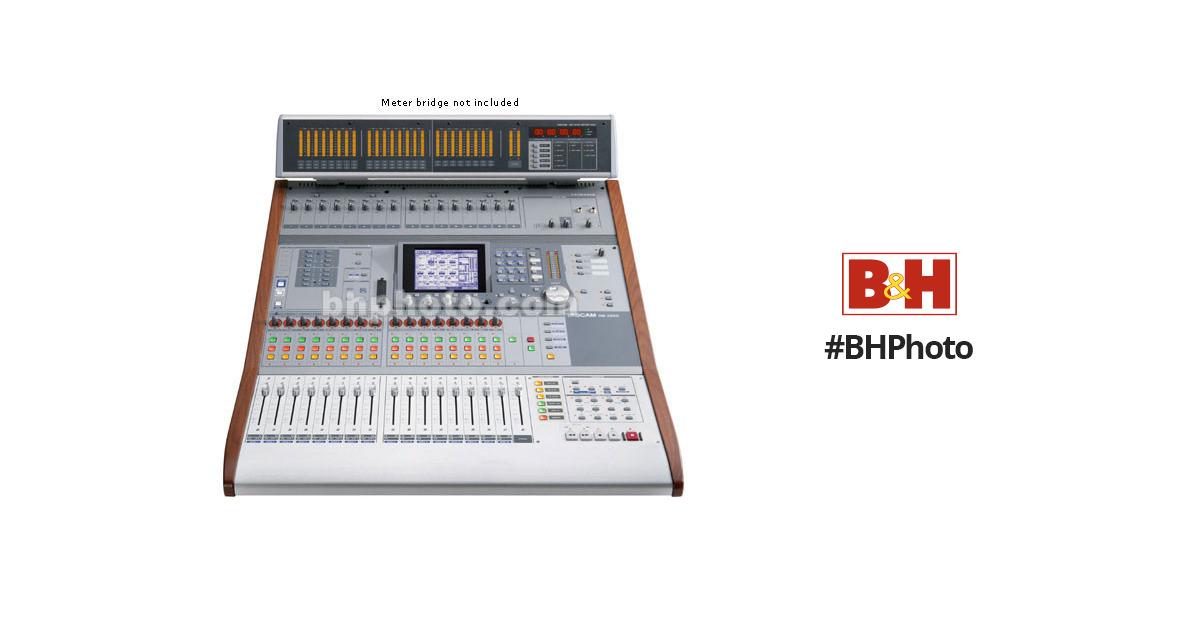 tascam dm 3200 32 channel digital mixing console dm 3200 b h. Black Bedroom Furniture Sets. Home Design Ideas