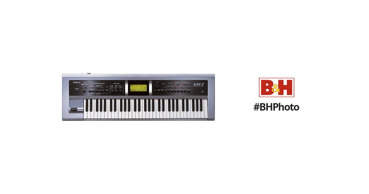 Roland GW-7 - 61-Key Arranger/Workstation USB/MIDI Keyboard