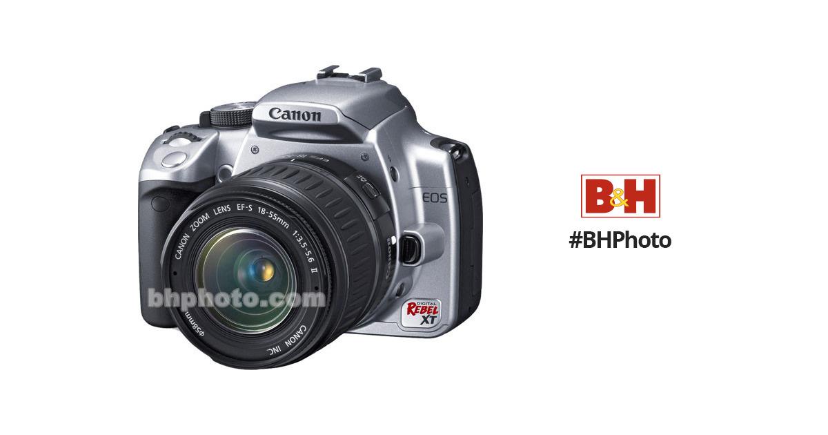 canon eos digital rebel xt a k a 350d digital camera 0206b003 rh bhphotovideo com canon eos rebel xt user guide canon eos rebel xt user manual