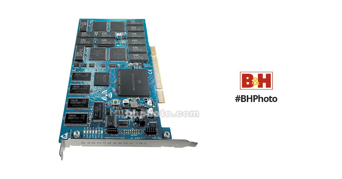 TC Electronic PowerCore PCI mkII - DSP PCI Card with Bundled Plug-Ins for  VST and Audio Units Based Native Systems - Mac OS X and Windows XP
