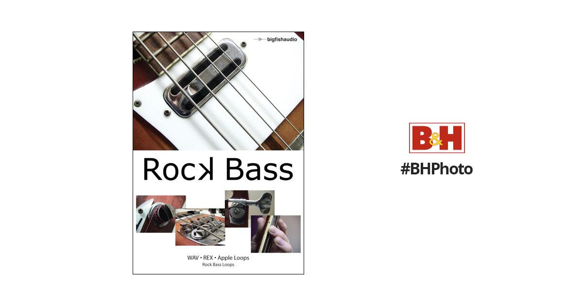 Big fish audio sample cd rock bass aiff and wav for Big fish audio