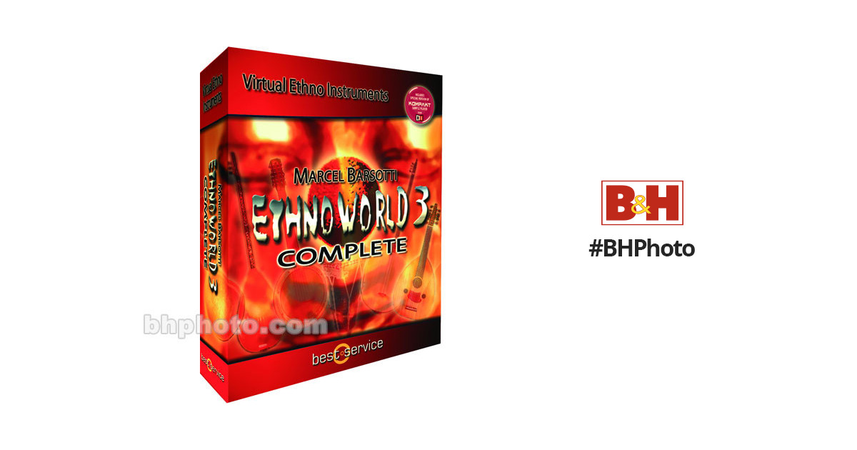 Best Service Ethno World 3 Complete - Ethnic Instrument Collection - Mac OS  X and Windows XP