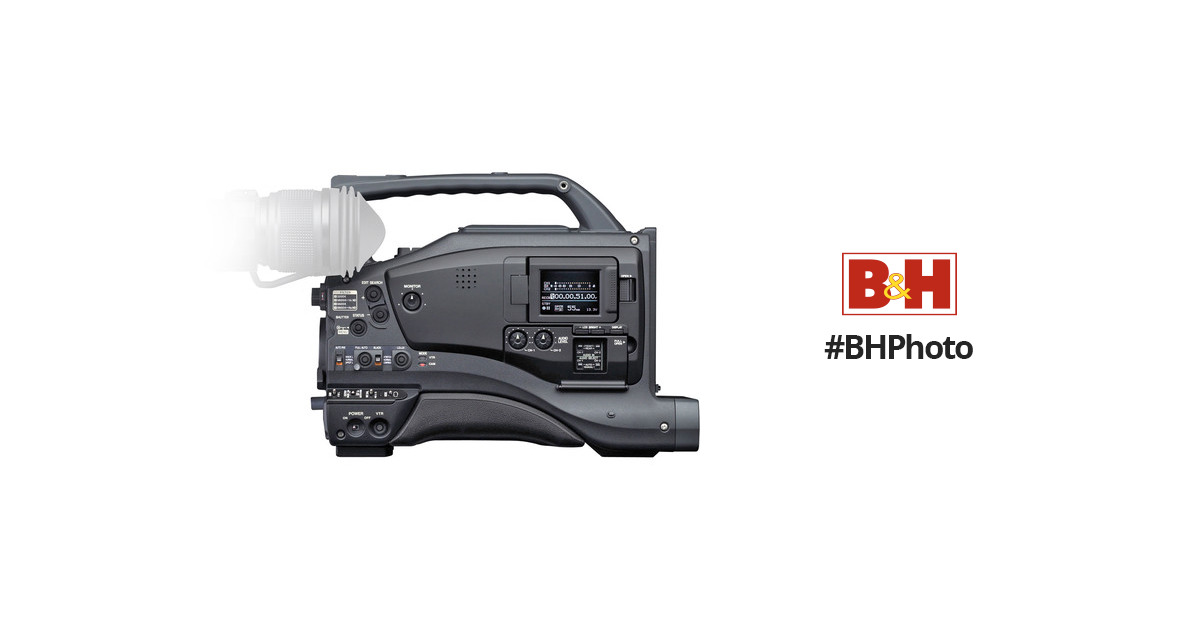 JVC GY-DV5100U Professional 1/2-Inch 3-CCD DV Camcorder with LCD Monitor,  800 TV Lines, Low Light Sensitivity, FireWire Input and Output