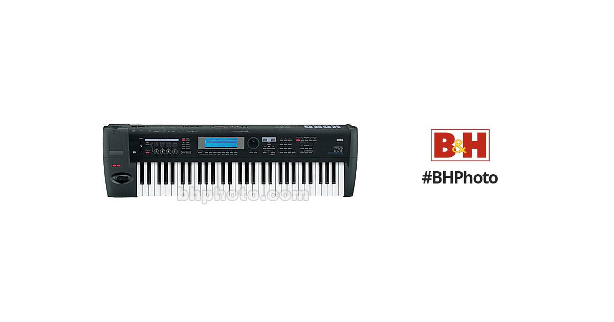 Korg TR-61 - 61-Key Workstation/Controller Synthesizer Keyboard
