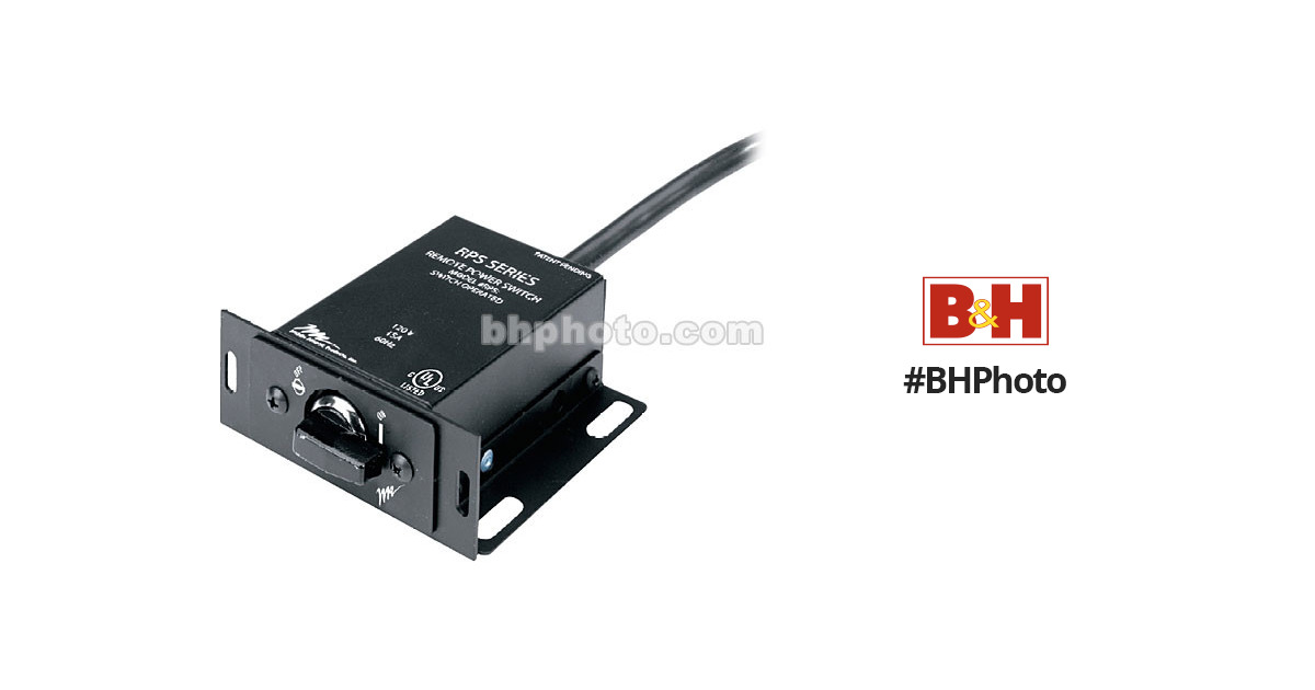 Middle Atlantic Products RPS Remote Power Switch