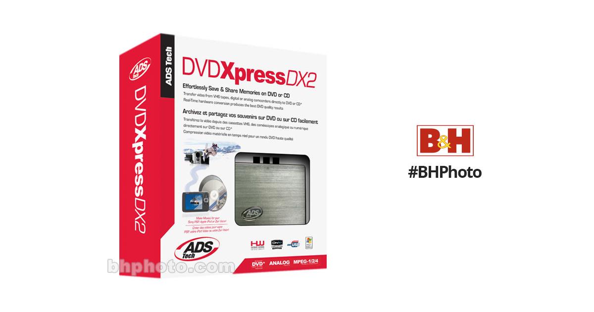 ADS USBAV 709 EF DVD XPRESS DX2 DRIVERS