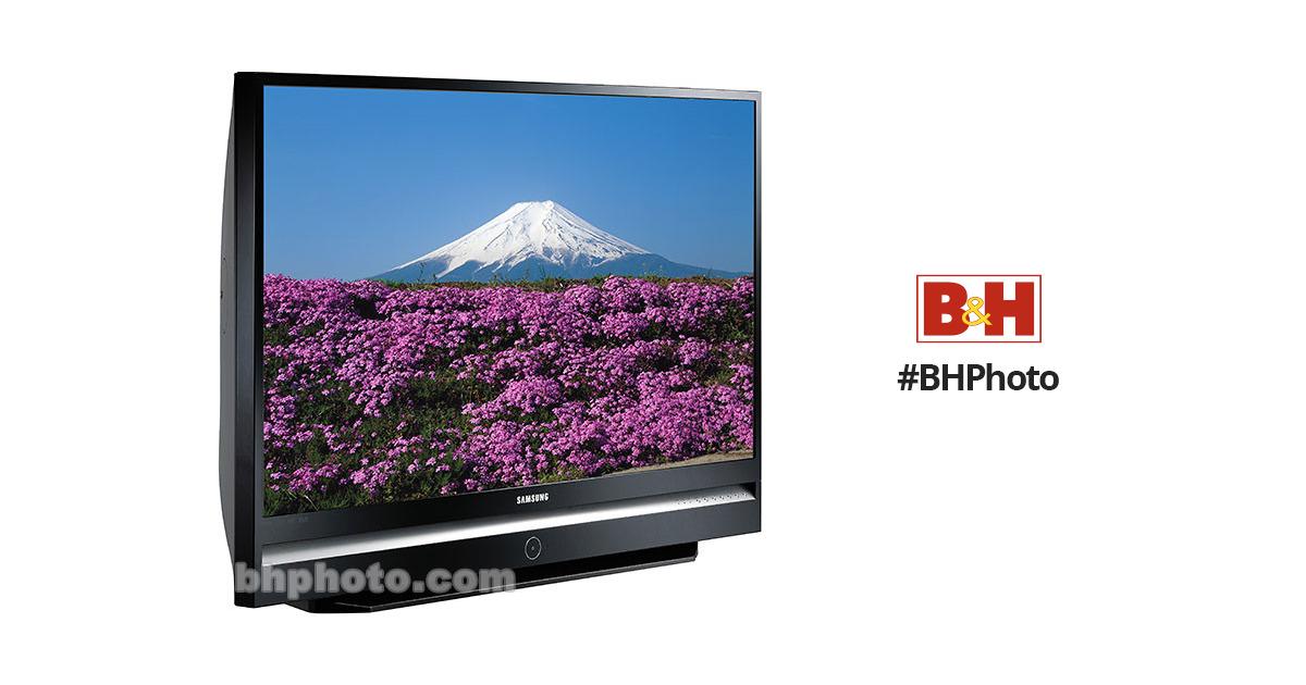 samsung hl s6187w 61 widescreen 1080p dlp hdtv hls6187w rh bhphotovideo com