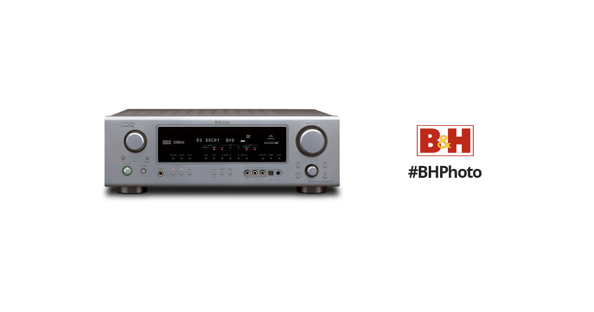 denon avr 786 a v receiver silver avr786s b h photo video