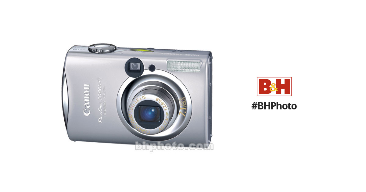 canon powershot sd800 is digital camera 1270b001 b h photo video rh bhphotovideo com