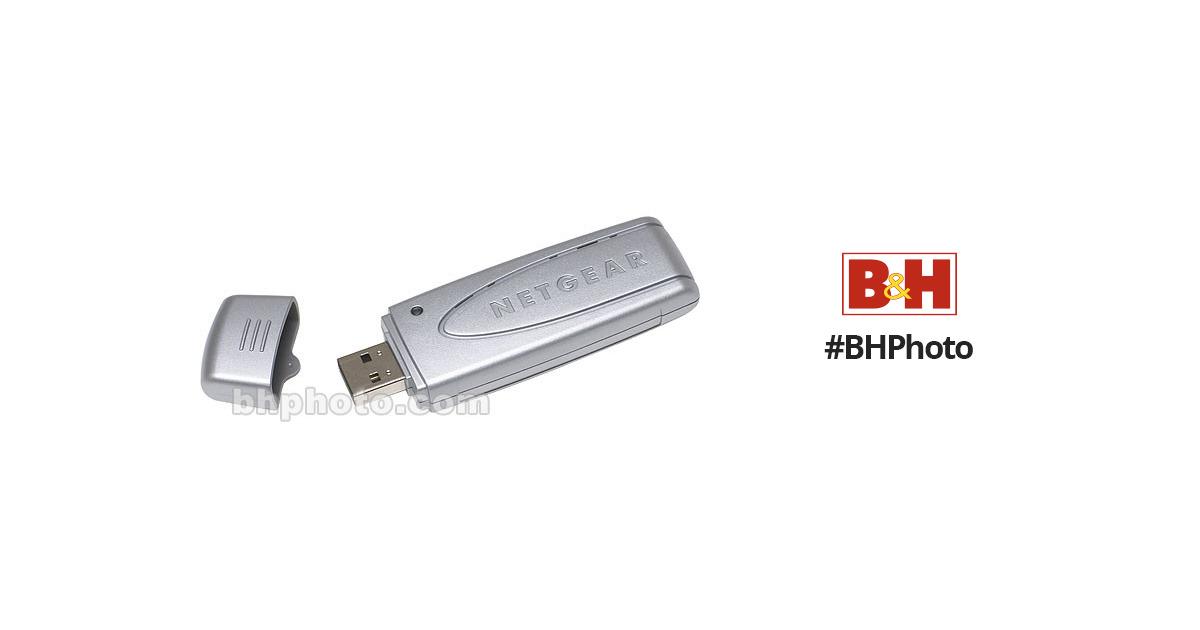 Netgear 108 Mbps Wireless USB 2 0 Adapter - Super G and 802 11b/g