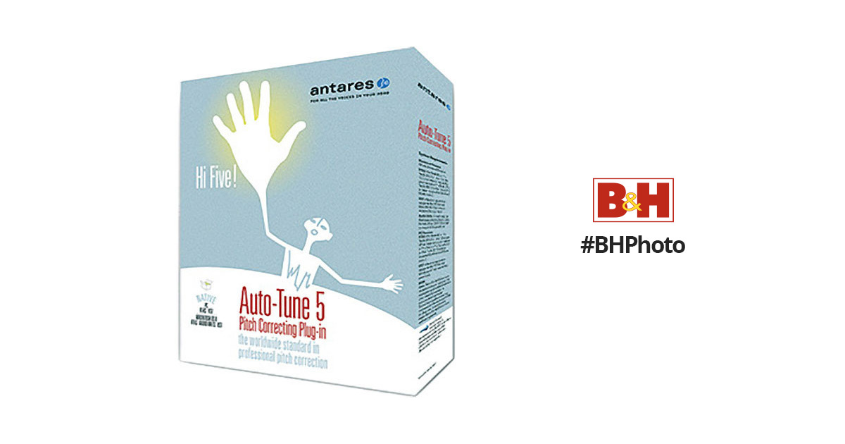 Antares Audio Technologies Auto-Tune 5 (Native) - Pitch Correction Native  Plug-In for Mac OS X and Windows XP