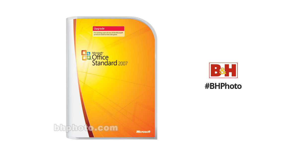 Microsoft Office Standard 2007 Upgrade for Windows