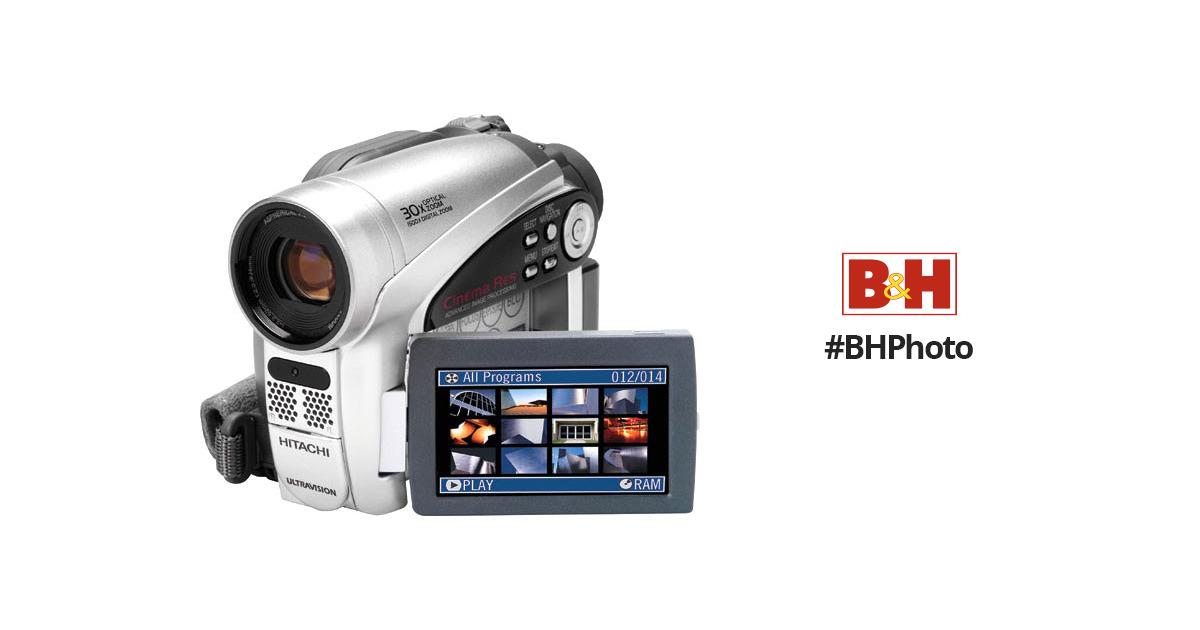 hitachi dzgx5020a dvd camcorder dzgx5020a b h photo video rh bhphotovideo com Hitachi TV Repair Manual Hitachi TV Repair Manual