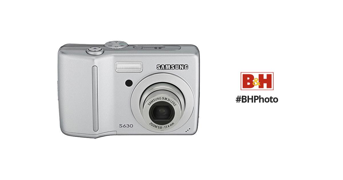 samsung s630 digital camera silver cj160201s b h photo video rh bhphotovideo com Samsung S630 Problems Samsung S630 Drivers