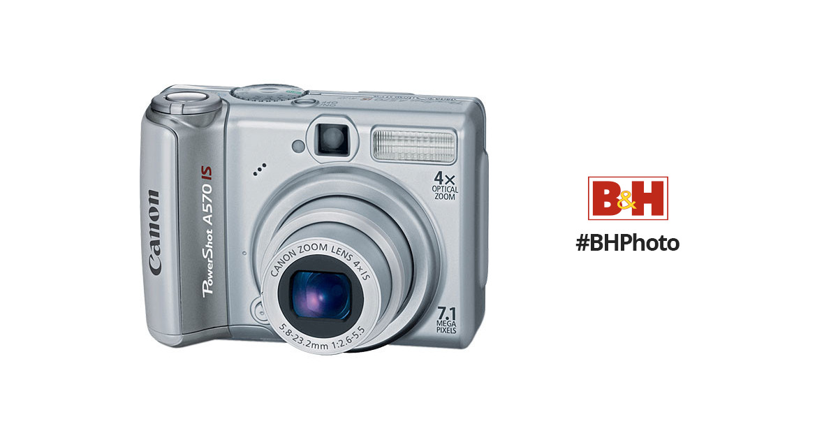 canon powershot a570 is digital camera 1773b001 b h photo video rh bhphotovideo com Manuals in PDF Instruction Manual