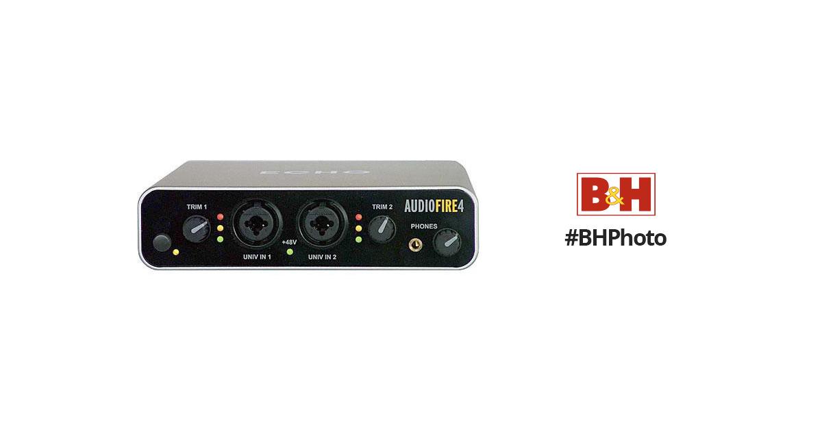 Echo Digital Audio AudioFire4 64 BIT