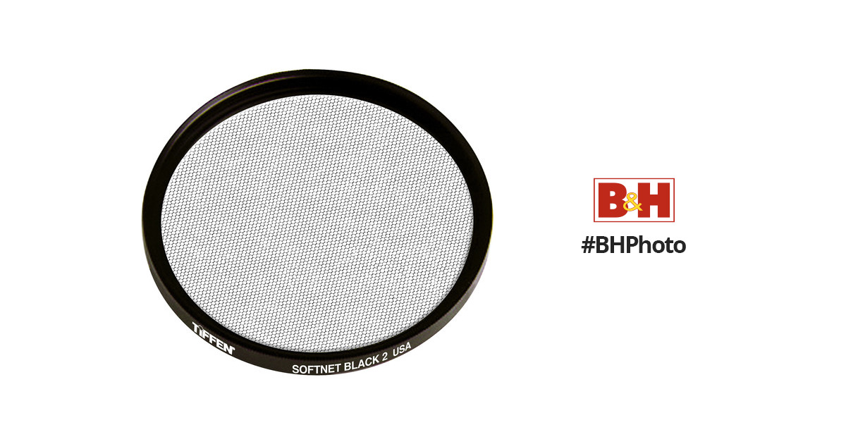 Tiffen 55mm Softnet Black # 2 Glass Filter.