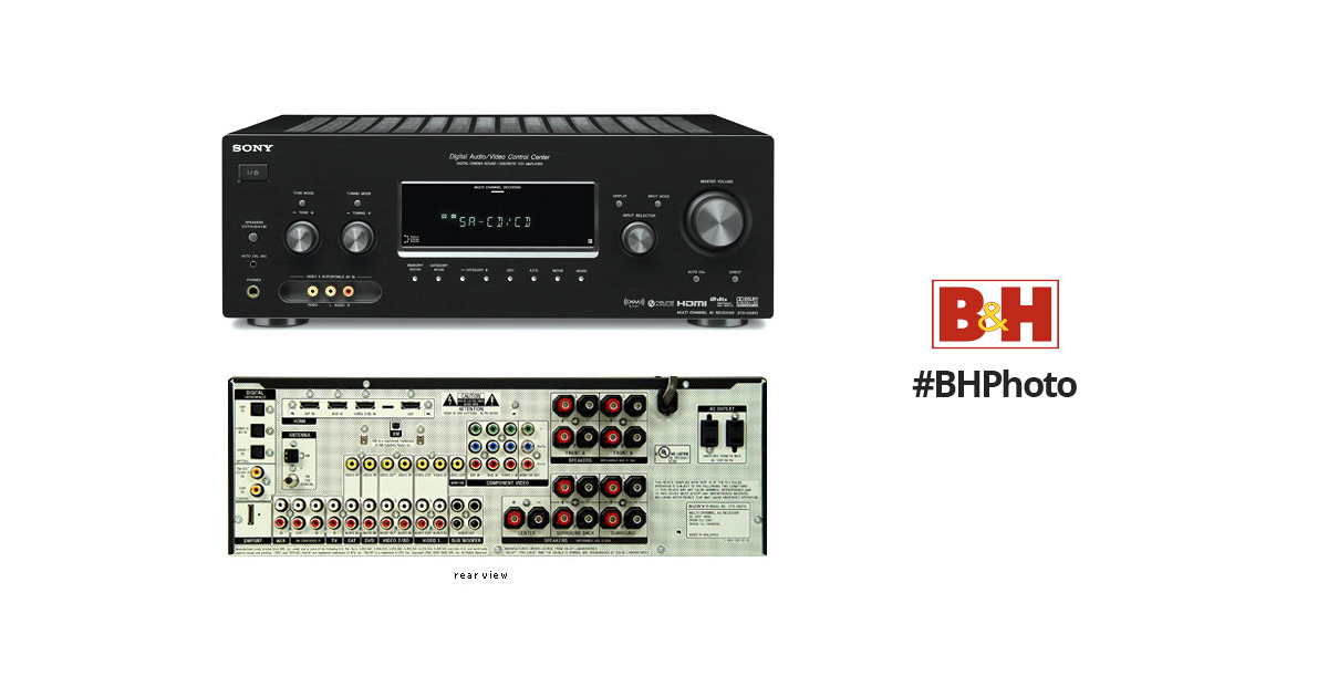 sony str dg910 770w 7 1 channel a v receiver str dg910 b h photo rh bhphotovideo com sony str-dg910 service manual Sony STR DG510