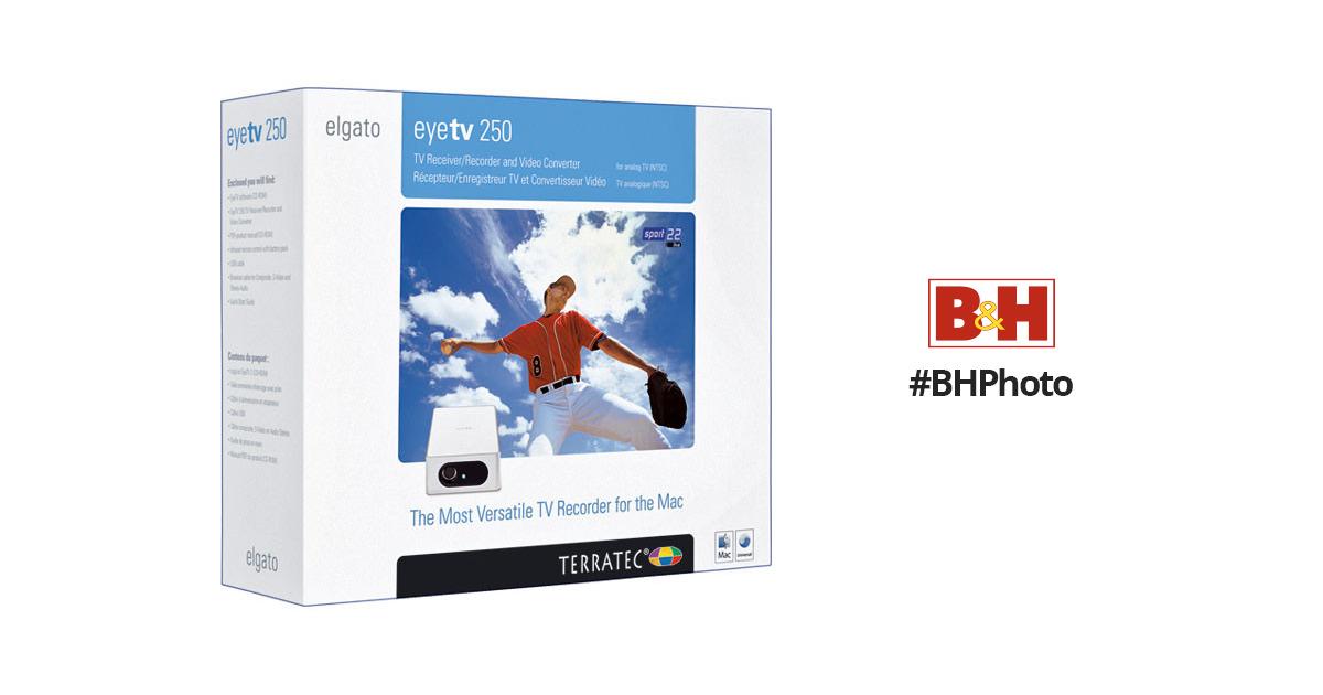 Elgato EyeTV 250 Plus USB NTSC/ATSC HDTV Tuner for Mac 10020260