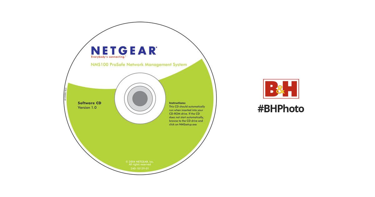 Netgear ProSafe Network Management System Software NMS100NA B&H