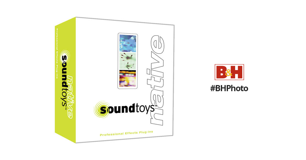 SoundToys SoundToys Native Effects Plug-In Bundle SOUNDTOYS