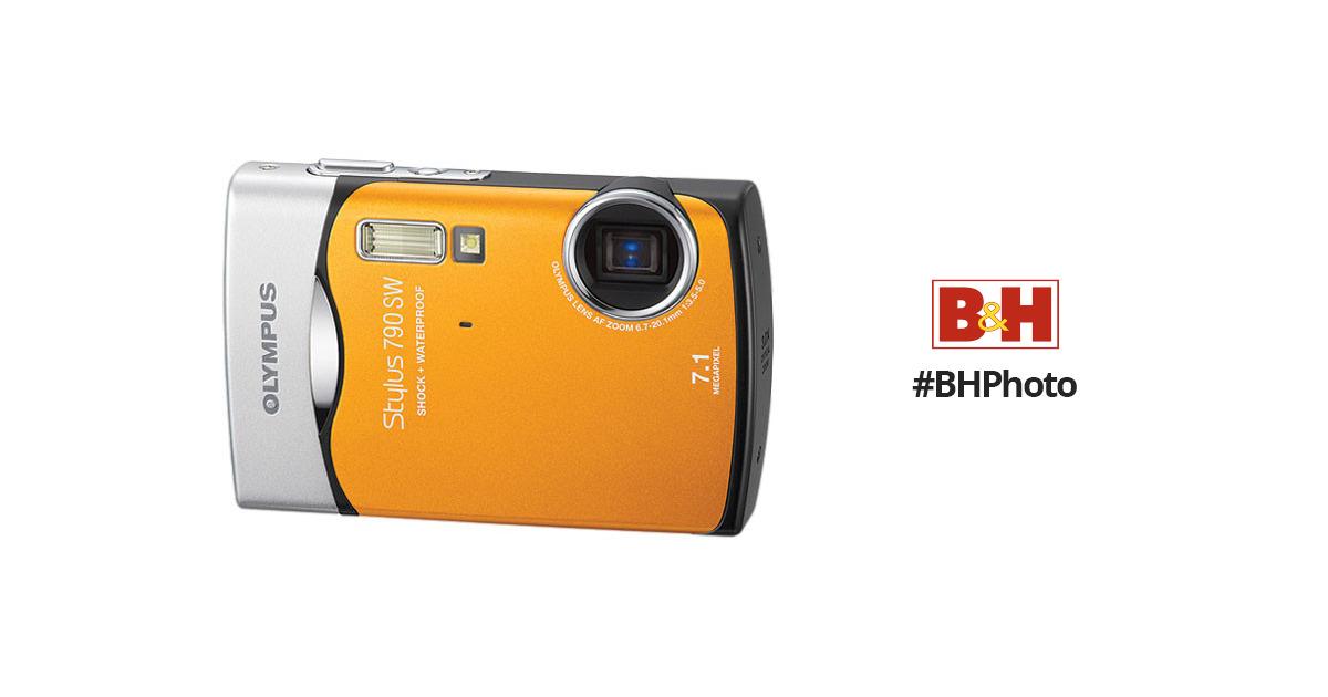 olympus stylus 790 sw digital camera orange 226110 b h photo rh bhphotovideo com Moto X Manual Manual Motorola X