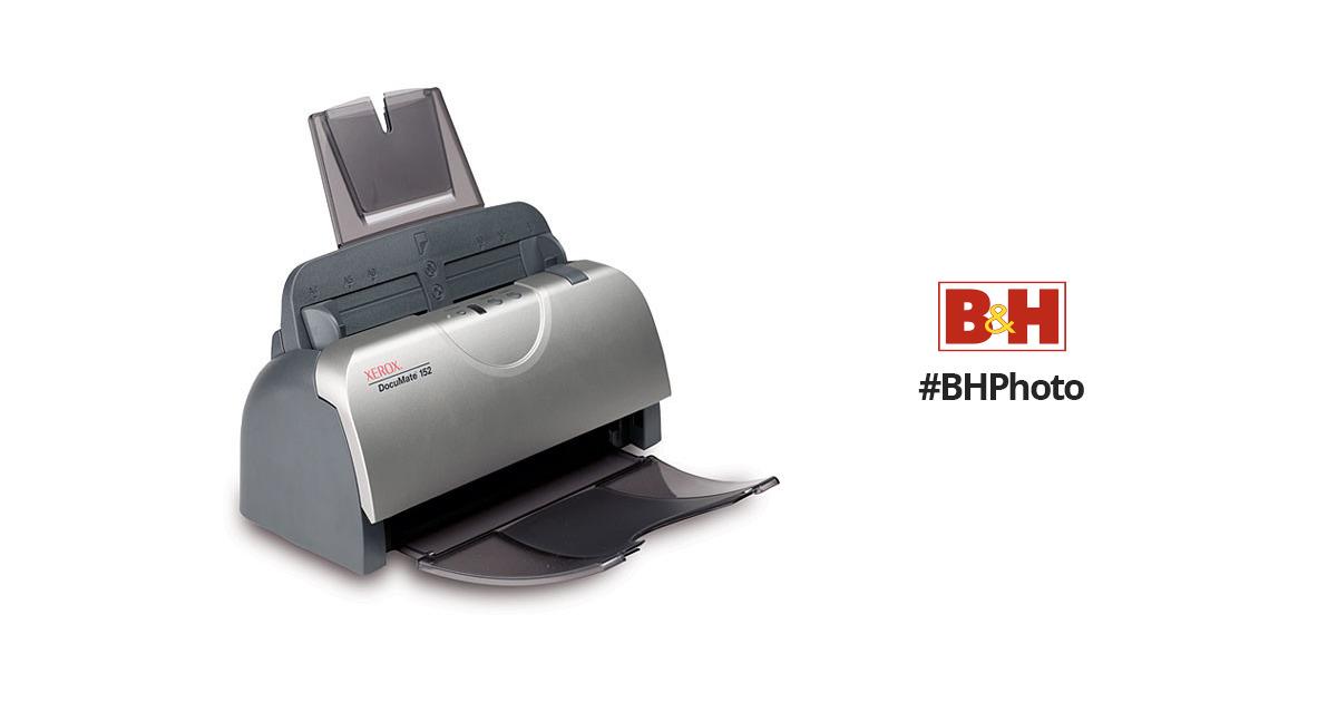 xerox documate 152 color sheetfed document scanner xdm1525d wu rh bhphotovideo com DocuMate 152I xerox documate 152 service manual