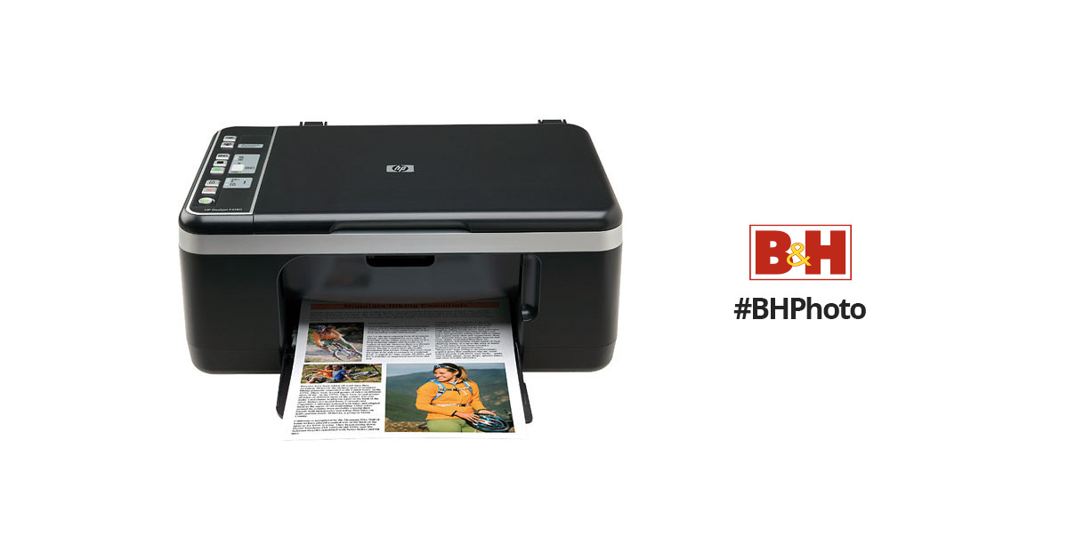 hp deskjet f4180 all in one cb584a b h photo video. Black Bedroom Furniture Sets. Home Design Ideas