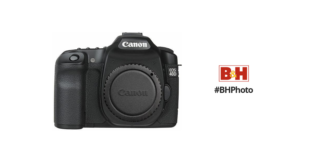 canon eos 40d slr digital camera camera body 1901b004 b h rh bhphotovideo com Instruction Manual Canon PC428 canon 40d manual sensor cleaning