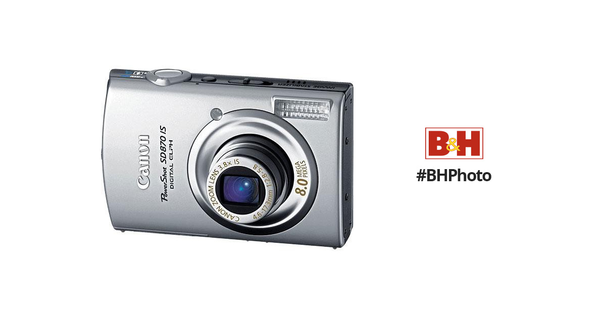 POWERSHOT SD870 IS DRIVERS UPDATE