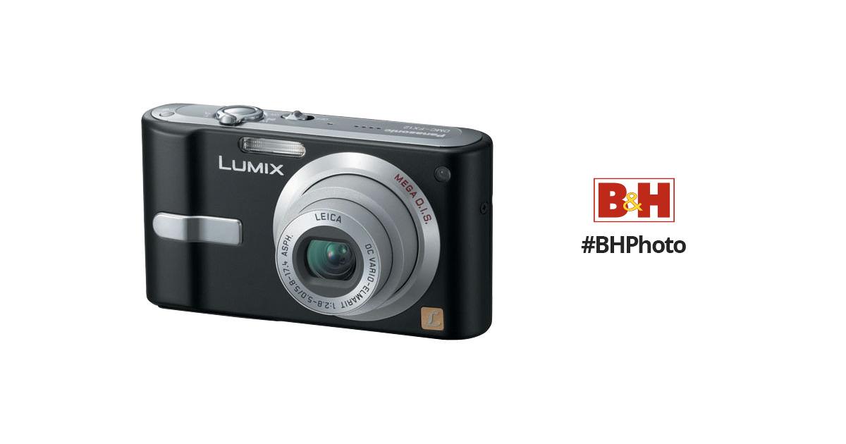 panasonic lumix dmc fx12 digital camera black dmcfx12k b h rh bhphotovideo com Panasonic DMC TS4 panasonic lumix dmc-fx12 manual