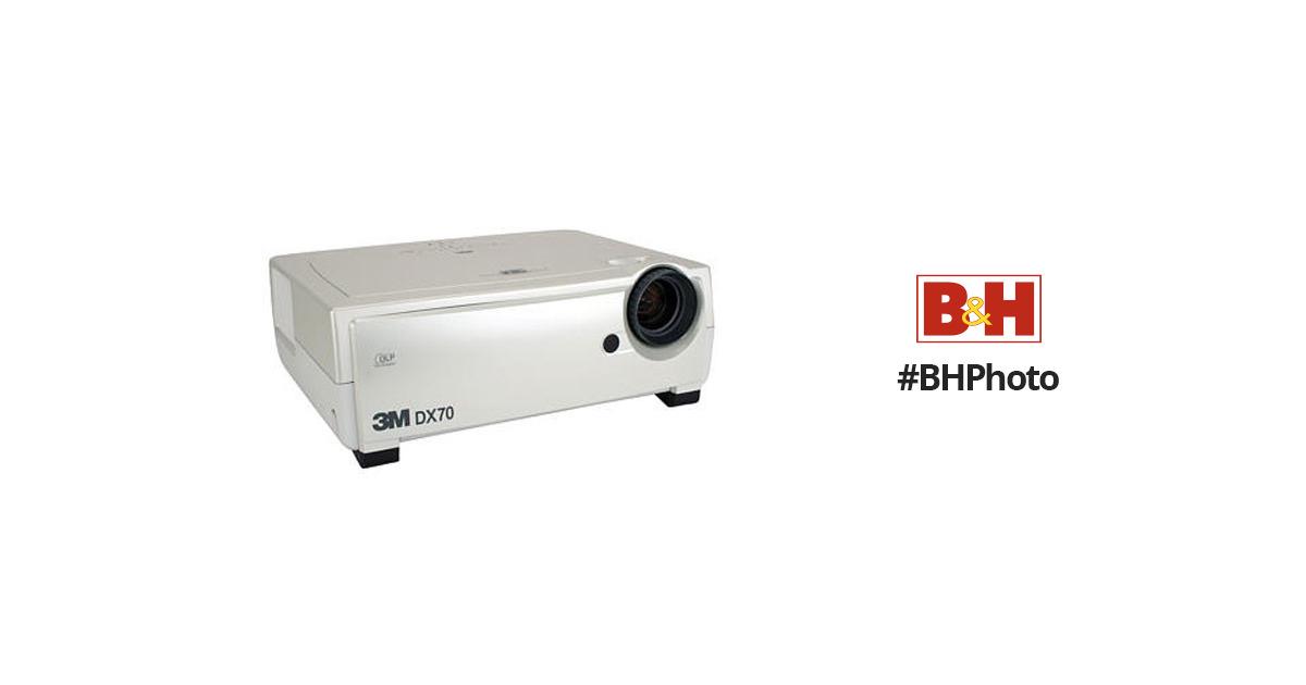 9f7de6b1ecfaf6 3M DX70 DLP Multi-Media Projector 78-9236-6926-7 B&H Photo Video