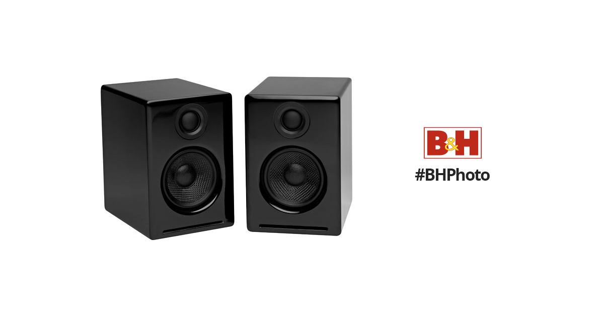 9d89c61a6 Audioengine A2 Desktop Speakers (Black) A2B B H Photo Video