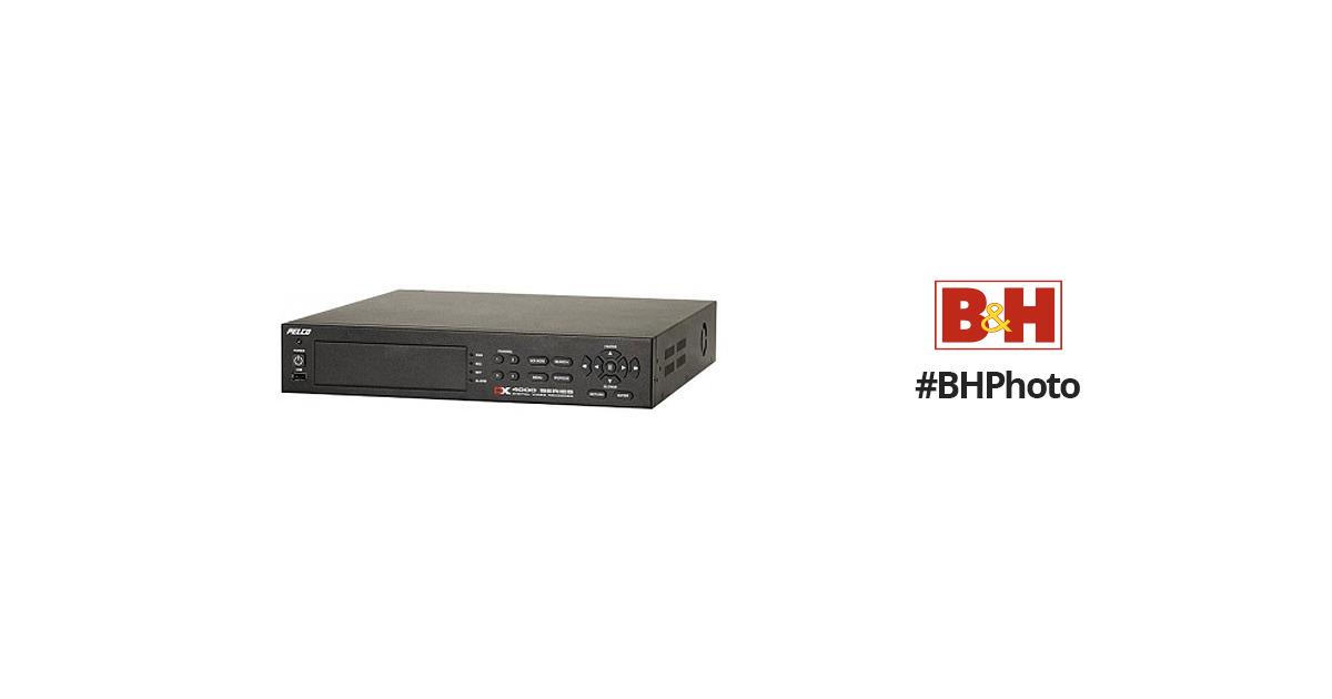 pelco dx4004cd250 4 channel 250gb dvr w cd rw dx4004cd250 b h rh bhphotovideo com