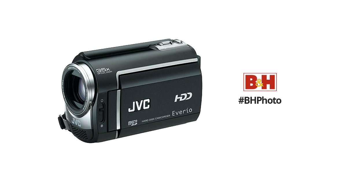 jvc gz mg360 everio hybrid camcorder gz mg360b b h photo video rh bhphotovideo com