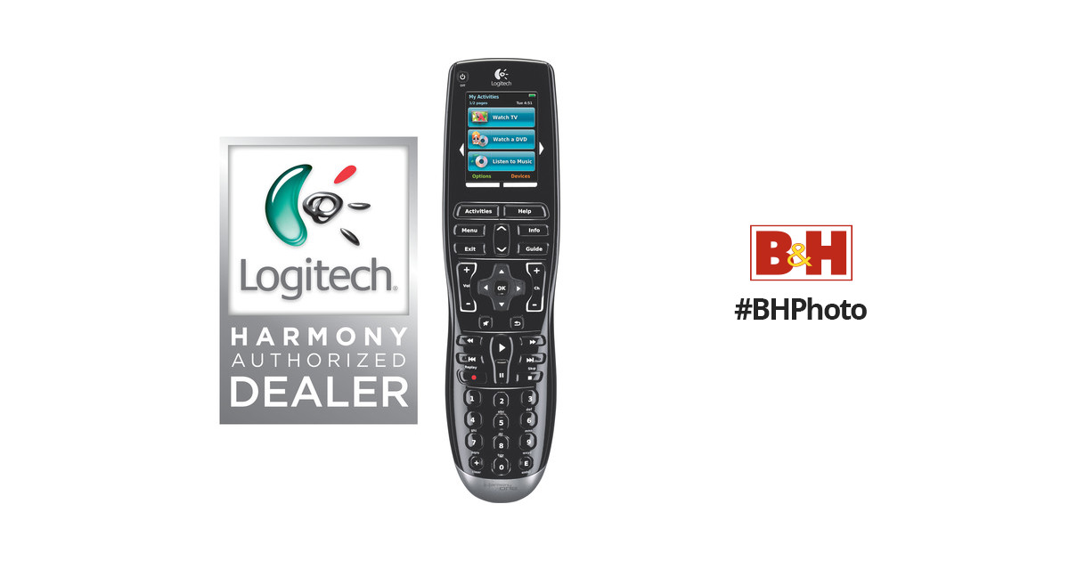 76a22a4ef04 Harmony/Logitech Harmony One Universal Remote Control 915-000035
