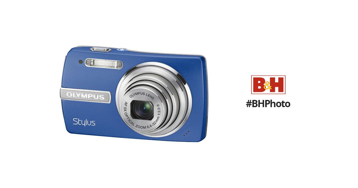 olympus stylus 840 digital camera blue 226260 b h photo video rh bhphotovideo com Olympus Stylus 35Mm Olympus Stylus Zoom 140
