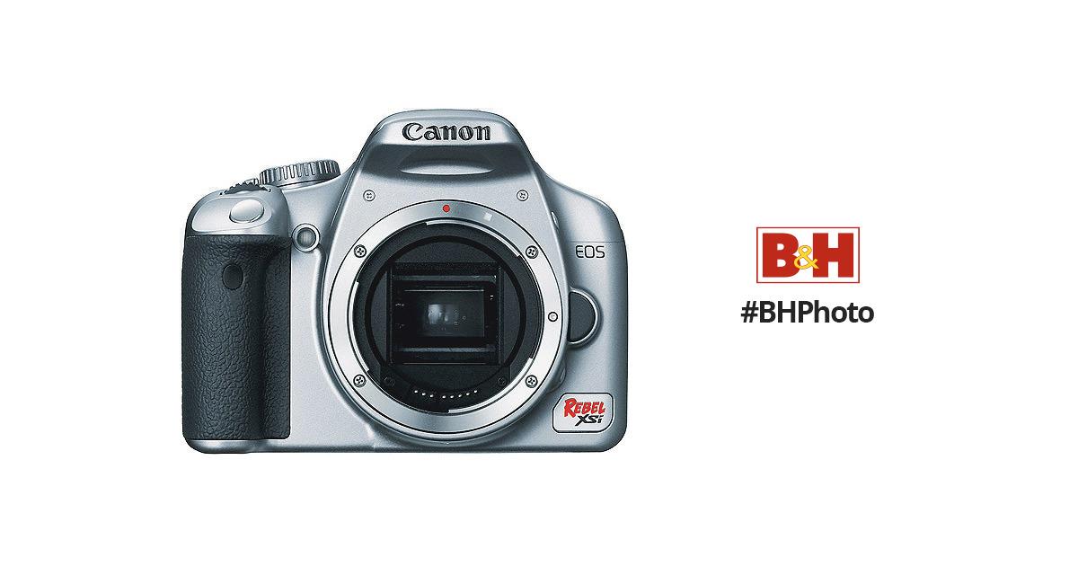 Canon EOS Rebel XSi Digital Camera (a k a  450D) (Silver) (Camera Body)