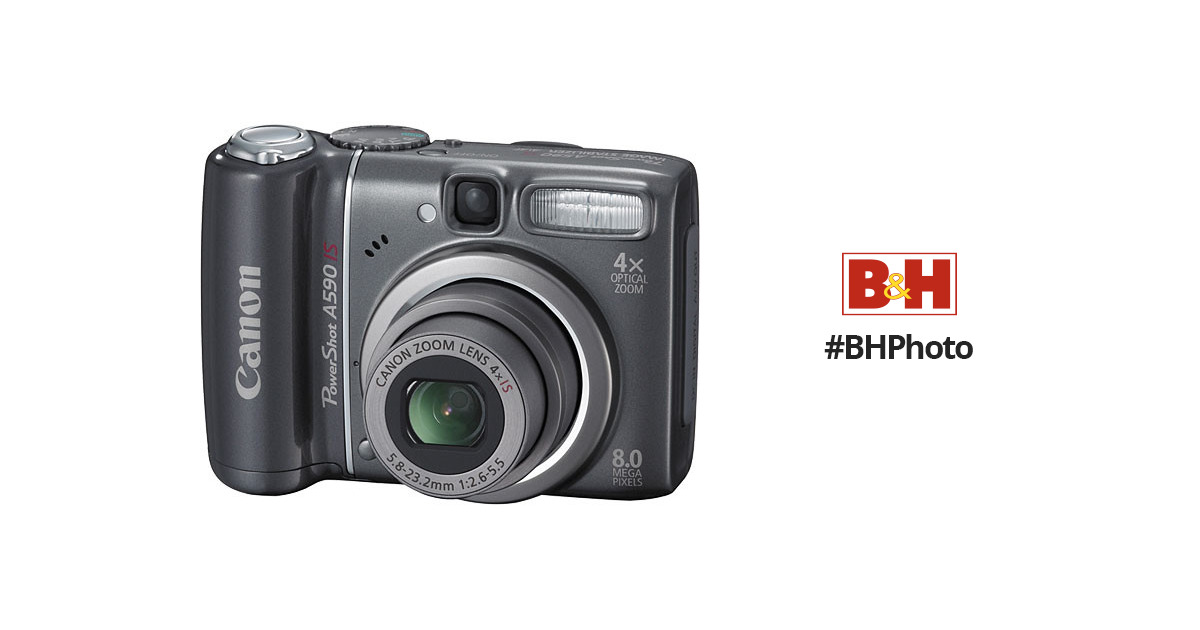 canon powershot a590 is digital camera 2462b001 b h photo video rh bhphotovideo com Canon 7D Manual Canon 7D Manual