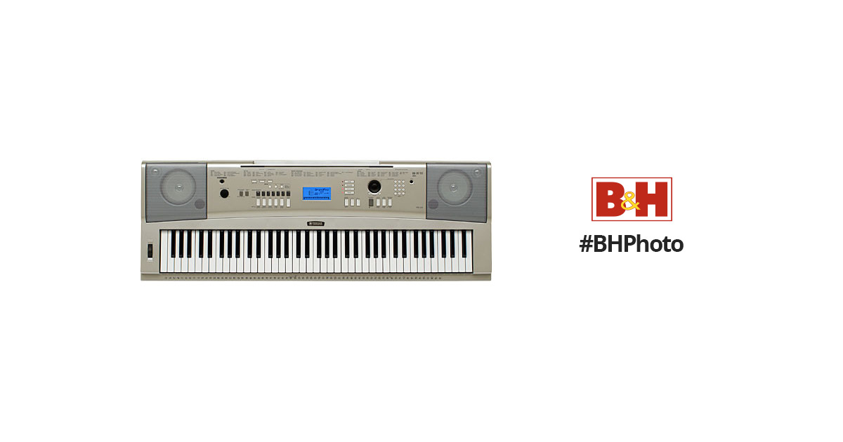 yamaha ypg 235 76 key portable grand keyboard ypg235 b h photo. Black Bedroom Furniture Sets. Home Design Ideas