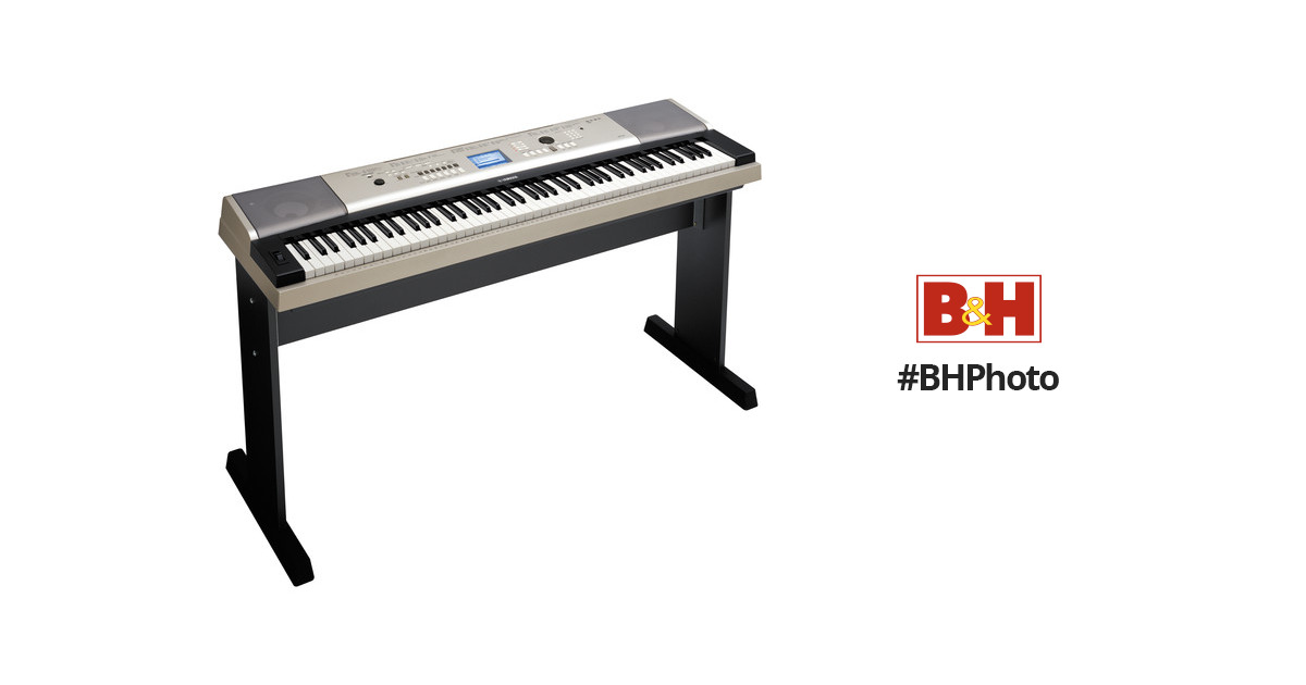 yamaha ypg 535 88 note portable keyboard ypg535 b h photo. Black Bedroom Furniture Sets. Home Design Ideas