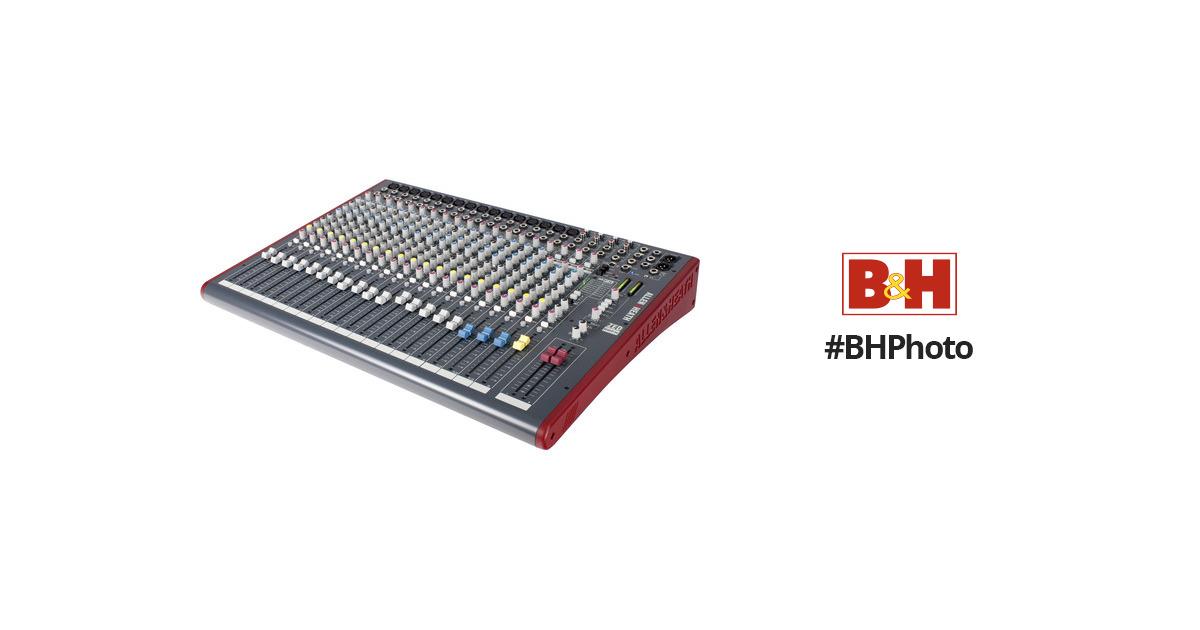 allen heath zed 22fx 22 channel analog mixer ah zed22fx b h. Black Bedroom Furniture Sets. Home Design Ideas