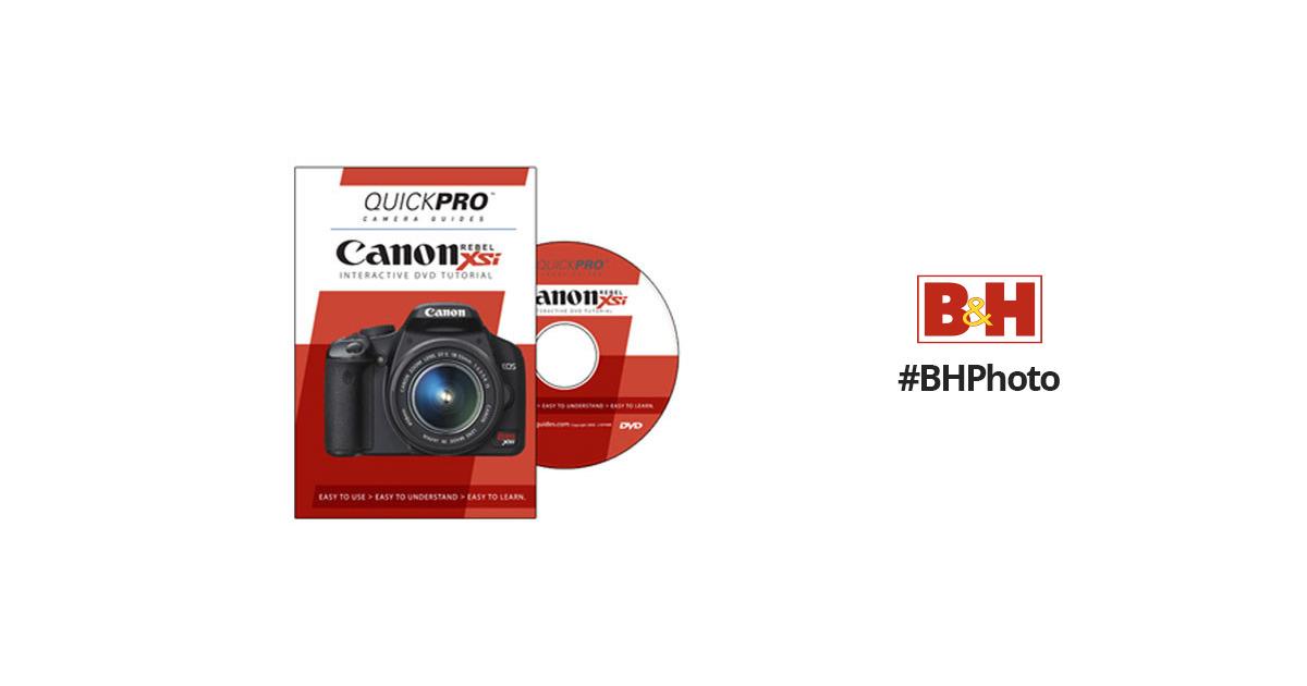 QuickPro DVD: Canon EOS Rebel XSi Tutorial