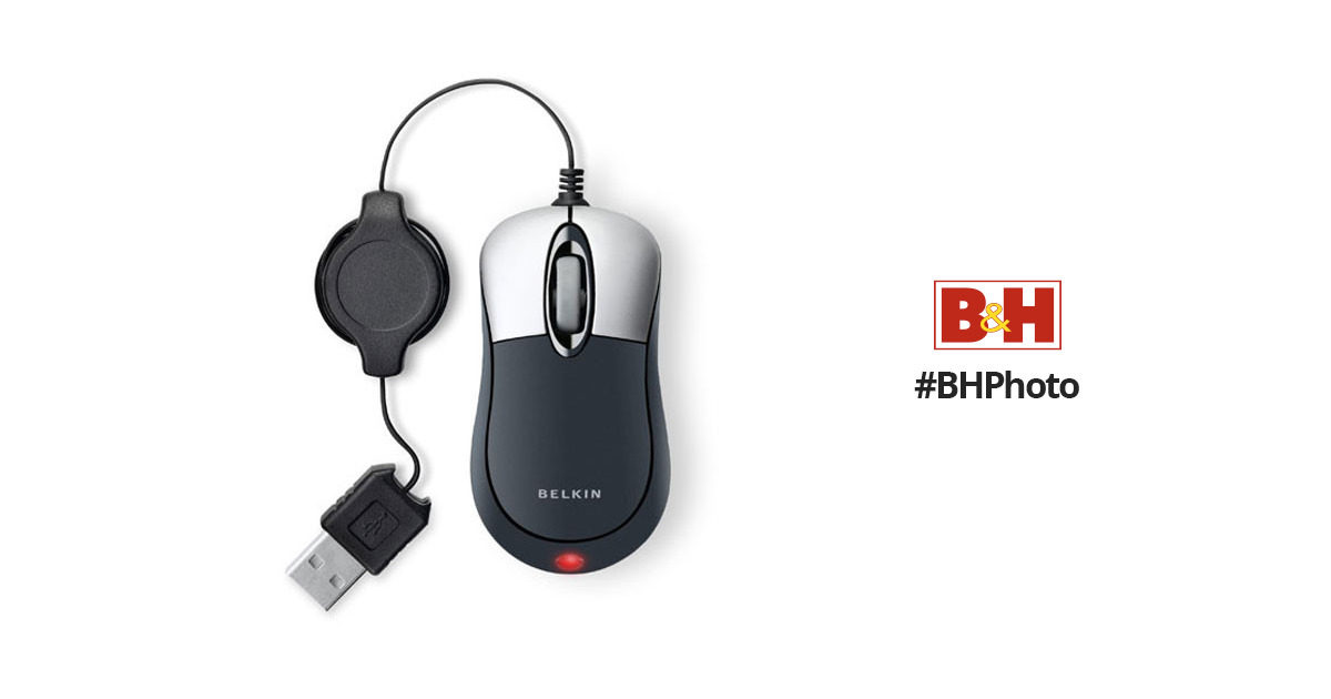 BELKIN RETRACTABLE MOUSE F5L016-USB DRIVERS (2019)