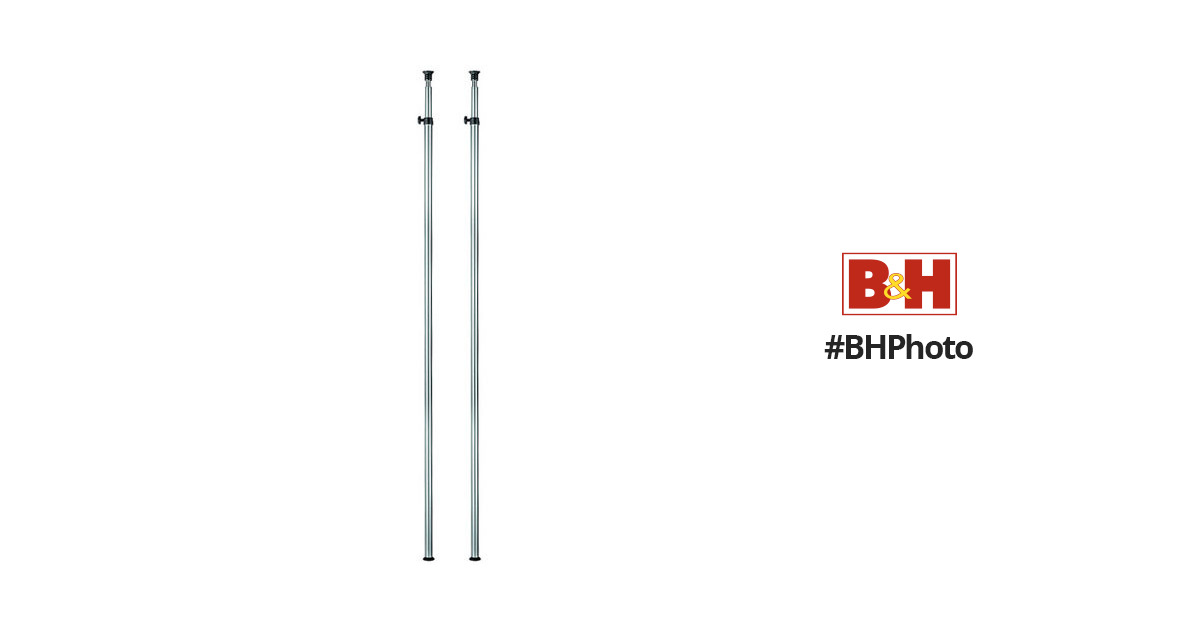 Manfrotto 170set Spring Loaded Poles Set Of Two 170set B Amp H