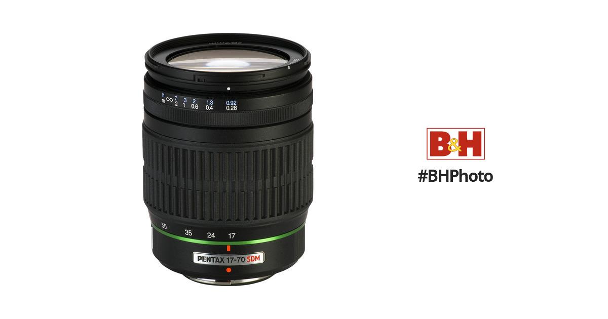 Pentax SMCP-DA 17-70mm f 4 AL (IF) SDM Autofocus Lens 21740 B H 6330ea98a0b